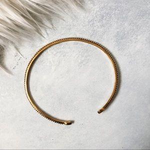 Luv AJ Pearl Gold Collar Choker